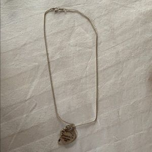 Tiffany & co. Heart tag with key pendant